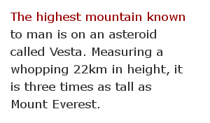 Astronomy space facts 69