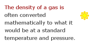 Density measurement facts 14