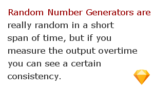 Random numbers facts 7