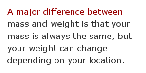 Weight measurement facts 6